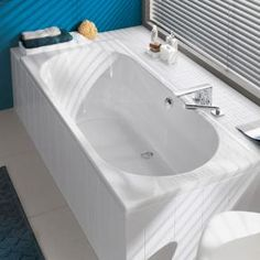 Villeroy & Boch O.novo Duo rectangular bath white