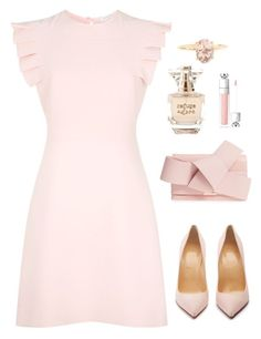 """Celeste"" by megriffin19 ❤ liked on Polyvore featuring Sandro, Christian Louboutin, Ted Baker, Refuge and Christian Dior"