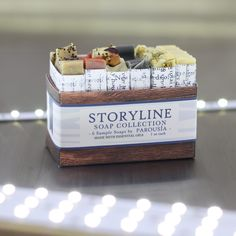 Storyline Soap Sampler all natural by parousia and old factroy soap