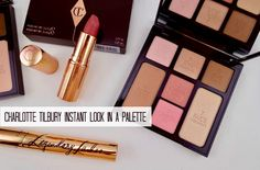 Short on (beauty) time? Try out Charlotte Tilbury's 5-minute face on the go with the Instant Look Palette and you'll be out the door before you know it!
