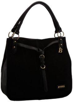 Bulaggi 21064-10 Black Suede Shopper