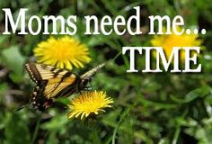 """Why Moms needs to take time for ourselves and how it helps us be better Moms...what do you do to get """"me-time""""?"""