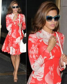 Eva Mendes in Jonathan Saunders Eva Mendes Hair, Eva Mendes Dress, Her Style, Cool Style, Jonathan Saunders, Hot Outfits, Cute Fashion, Fashion Ideas, Dress Me Up