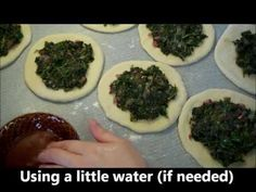 Vídeo : Cómo hacer estos deliciosos fatayer de espinacas, mm mm! !!!deliciosos