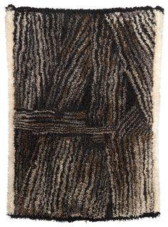 Kuhilaita Stooks by Kirsti Ilvessalo Textiles, Textile Patterns, Textile Prints, Textile Design, Textile Art, Rya Rug, Mid Century Rug, Wool Art, Rug Hooking