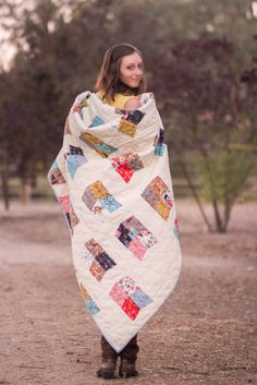 Rachel's Fables, Free Wildland Quilt Pattern, link in text