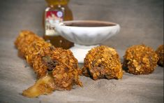 Get ready for the big game by preparing these Sue Bee Taco Nuggets with Southwest Honey Sauce!