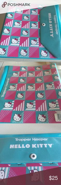 Hello Kitty Trapper Keeper folder Mead collaboration Hello Kitty Other