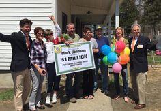 Congratulations to today's $1 Million winner, Mark Johnson, of Dolgeville, NY!