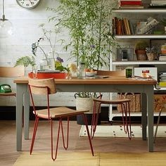Furnishings and Decor: Field Dining Table