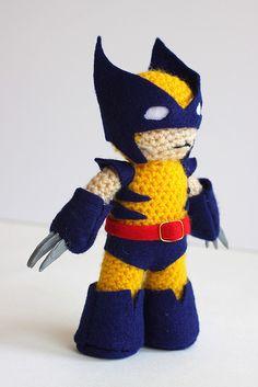 Wolverine Amigurumi