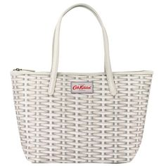 Wicker Small Leather Trim Tote Cath Kidston Clothes, Cath Kidston Bags, Baby's First Haircut, Baby Haircut, Baby Safe, Pattern Fashion, Best Sellers, Wicker, Purses And Bags
