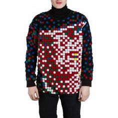 Alex Pixel Toweling Sweatshirt