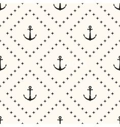 Seamless retro pattern vector by svetolk