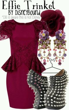 Effie Trinket {Halloween Costume Ideas}