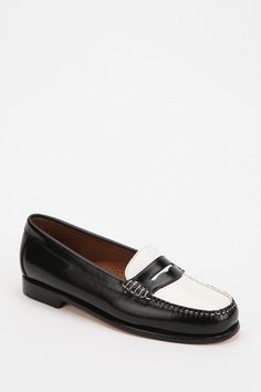 Bass Wayfarer Two-Tone Penny Loafer  #UrbanOutfitters
