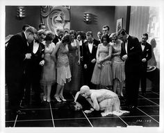Charles King, Bessie Love, and Anita Page in The Broadway Melody (1929)