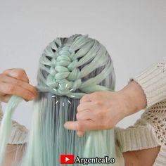 Work Hairstyles, Easy Hairstyles For Long Hair, Braids For Long Hair, Pretty Hairstyles, Braided Hairstyles, Summer Hairstyles, Hair Up Styles, Medium Hair Styles, Knot Braid