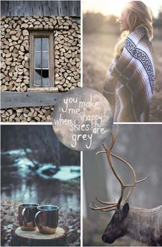 moodboard - grey autumn