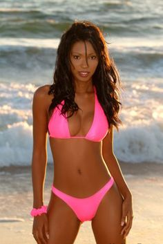 Her! black tie bikini from beach bunny swimwear can