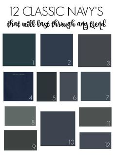 The Best Sherwin Williams Blogs. Navy Paint ColorsExterior ...