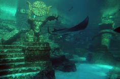 Wow - I'd love to dive this! Shicheng - the underwater city