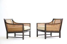 Pair of Lounge Chairs Edward Wormley