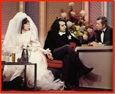 Tiny Tim and Miss Vicki getting married on the Tonight Show starring Johnny Carson 1969