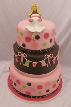cute baby shower cake without the cake topper
