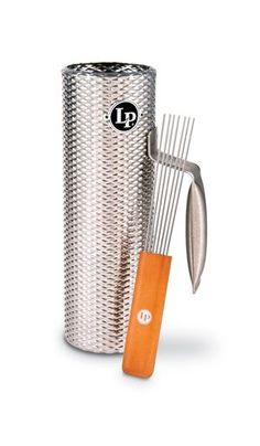 Latin Percussion LP Mini Merengue Guira with Scraper LP303 The LP Merengue Guiro is an essential element in performing merengue music. Its open-ended design and tightly textured surface produces highe