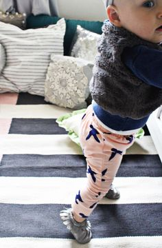 DIY Baby and Toddler Harem Pants with Free Pattern