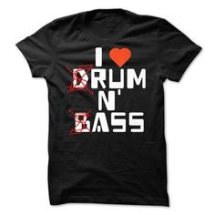 I LOVE DRUM AND BASS - #gift for kids #small gift. LIMITED TIME PRICE => https://www.sunfrog.com/Music/I-LOVE-DRUM-AND-BASS.html?68278