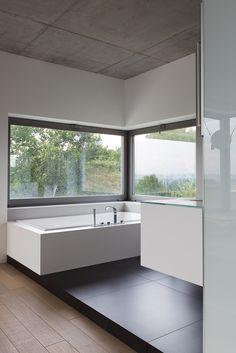 Coverlam / Floor tiles. Grespania cerámica. Single family house. Krakow, Poland Studio MOMO Studio Architektury. www.grespania.com www.facebook.com/grespaniaceramica