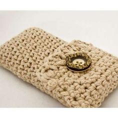 crochet cell phone cases | another cute crochet cell phone case