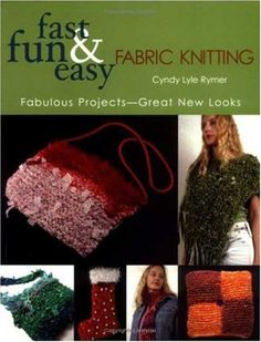 Fast Fun  Easy Fabric Knitting Fabulous ProjectsGreat New Looks *** Learn more by visiting the image link.