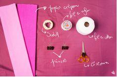 DIY: Tissue paper pompoms