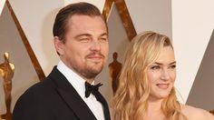 Leonardo DiCaprio & Kate Winslet REUNITE at Oscars 2016 Red Carpet