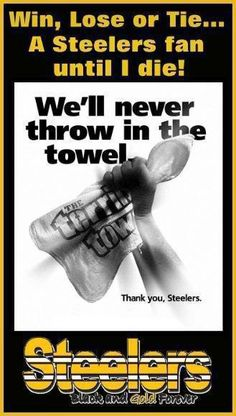 Pittsburgh Steelers For Life