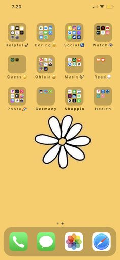Cute Home Screens, Iphone App Layout, Xmax, Editing Apps, Phone Organization, Self Improvement Tips, Apple Products, Homescreen, Cute Wallpapers