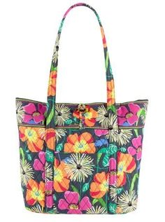 Vera Bradley Vera in Jazzy Blooms -- Find out more about the great product at the image link.