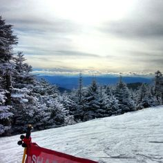 Nice day to ride. #killington #vt #snow #snowboarding #ride