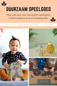 eco speelgoed tips Sustainable Living, Zero Waste, Baby Food Recipes, Sustainability, About Me Blog, Inspiration, Children, Toys, Eco Friendly