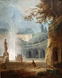 Hubert Robert The Fountain, c. 1775–78