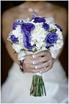 Ramos de novia azules 9
