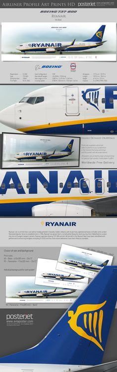 Boeing 737-800 Ryanair EI-DCO | www.aviaposter.com | #airliners #aviation #jetliner #airplane #pilot #aviationlovers #avgeek #jet #airport #pilotlife #cabincrew #boeinglovers #boeingpilot #boeingscrew #b737800 #b737