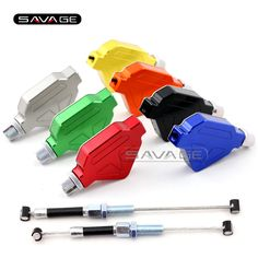 Motorcycle Accessories CNC Aluminum Stunt Clutch Lever Easy Pull Cable System NEW 7 colors
