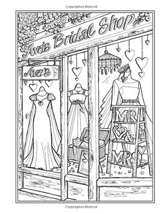 Creative Haven Main Street Coloring Book (Creative Haven Coloring Books) Detailed Coloring Pages, Cute Coloring Pages, Creative Haven Coloring Books, Disney Princess Coloring Pages, Printable Adult Coloring Pages, Ink Pen Drawings, Mandala, Colorful Pictures, Paisley