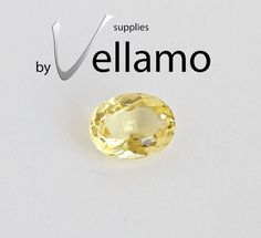 212CT natural citrine oval unheated by byvellamosupplies on Etsy, $9.50