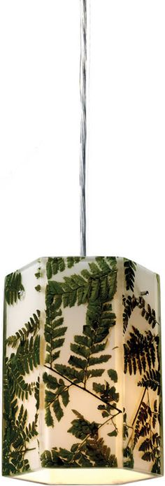 Modern Organics 1-Light Pendant Polished Chrome
