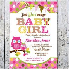 owl baby shower invitations 11